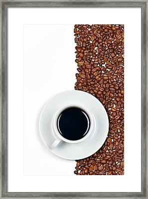 Coffee Framed Print by Gert Lavsen
