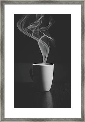 Coffee Framed Print by Happy Home Artistry