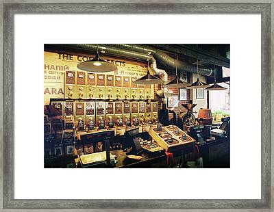 Coffee House Framed Print
