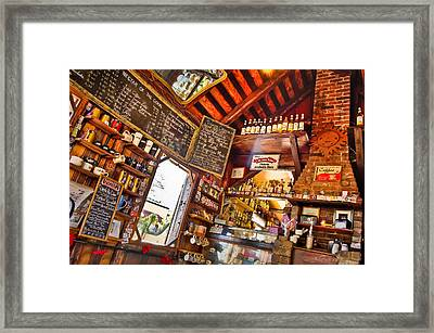 Coffee House Framed Print by Rich Leighton