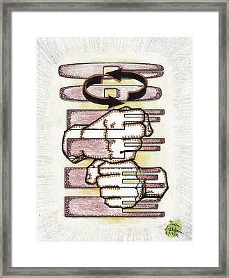 Coffee In Asl Framed Print