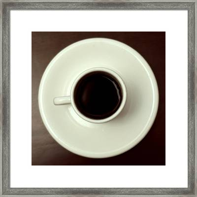 Coffee Framed Print by John Gusky