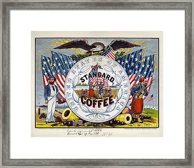 Coffee Label, C1862 Framed Print by Granger