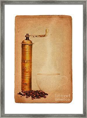 Coffee Framed Print by Michal Boubin
