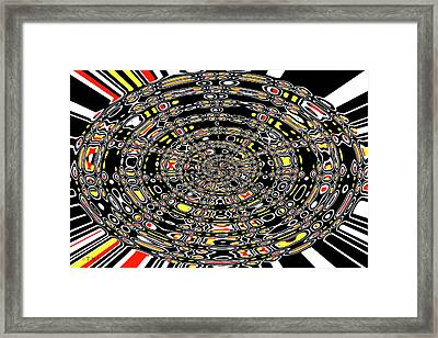 Coffee Mugs With Tom Janca's Origional Designs  Framed Print by Tom Janca