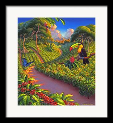 Plantation Framed Prints