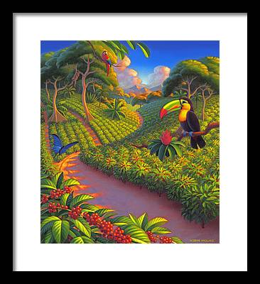 Plantation Framed Prints
