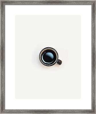 Coffee Please Framed Print