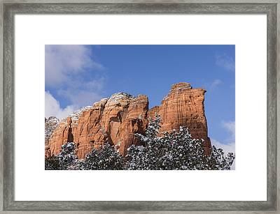 Coffee Pot Leads The Way Framed Print