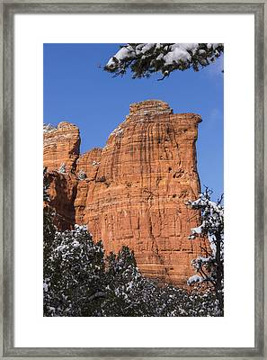 Coffee Pot Rock Framed Print