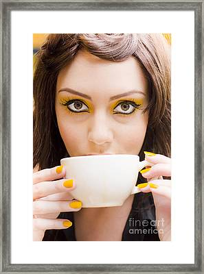Coffee Framed Print by Jorgo Photography - Wall Art Gallery