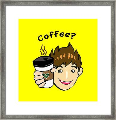 Coffee? Framed Print