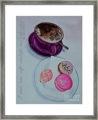 Coffee Framed Print