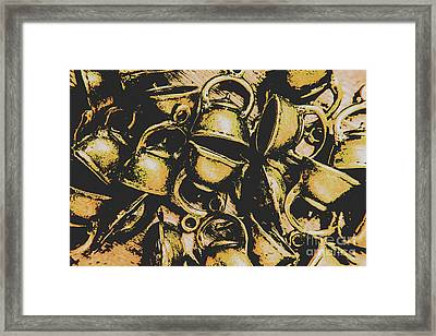 Coffee Shop Abstract Framed Print