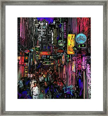 Coffee Shop, Amsterdam Framed Print
