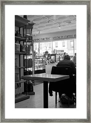 Coffee Shop Framed Print by Randy