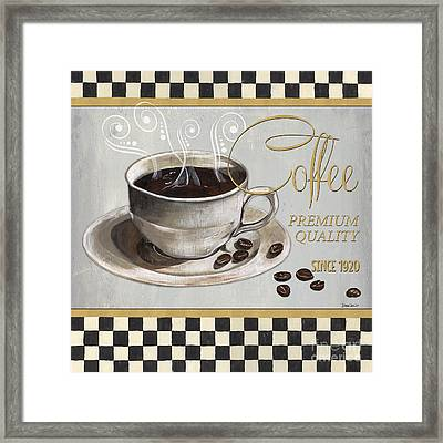 Coffee Shoppe 1 Framed Print by Debbie DeWitt