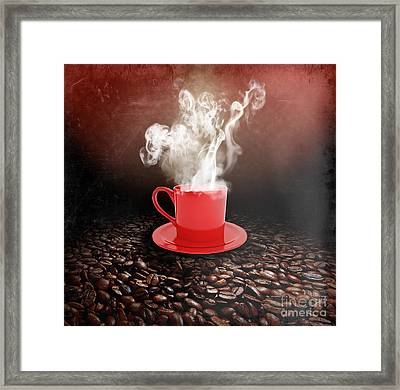 Coffee Framed Print by Stefano Senise