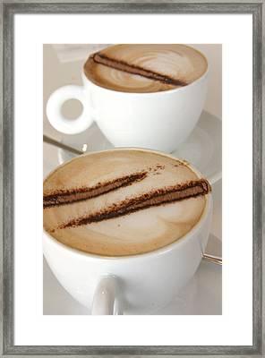 Coffee Time 3 Framed Print by Jez C Self