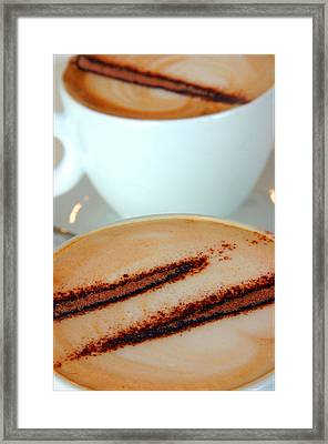 Coffee Time 4 Framed Print by Jez C Self