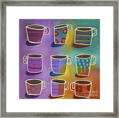 Coffee Time Framed Print by Carla Bank