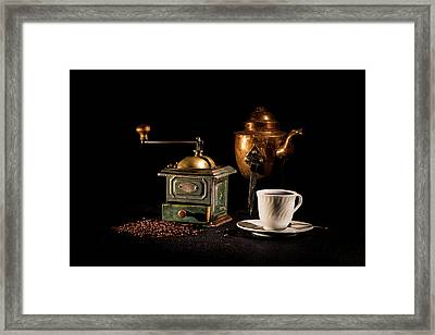Coffee-time Framed Print by Torbjorn Swenelius