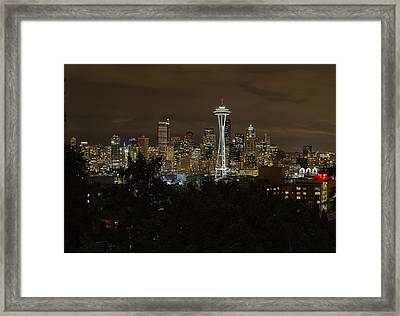 Coffee Town Framed Print