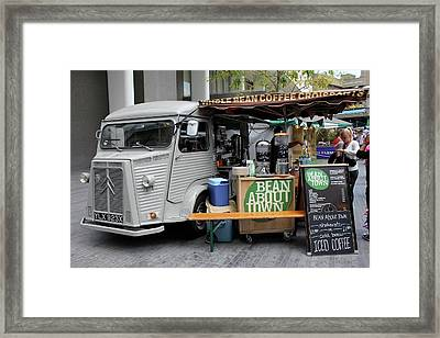 Coffee Truck Framed Print