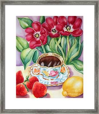 Coffee With Flavour Framed Print