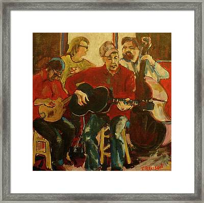 Coffeehouse Combo Framed Print by Todd  Peterson