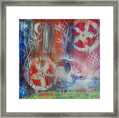 Cogs And Bogs Framed Print by Shannon Crandall