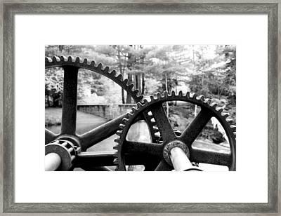 Cogs Framed Print