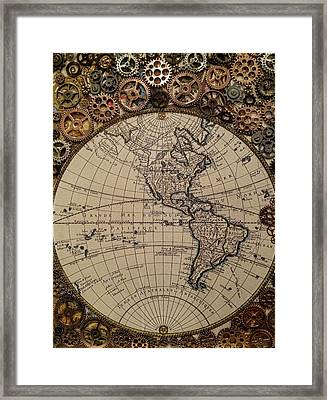 Cogs In The Machine Framed Print