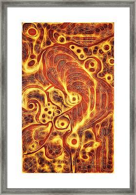 Cogs In Wheels Framed Print by Aurora Art