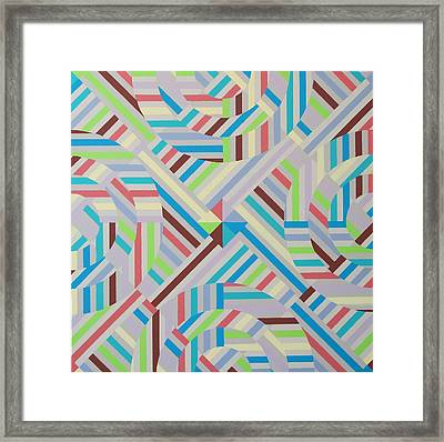 Coherence Framed Print by Paul Moss