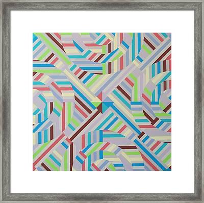 Coherence Framed Print