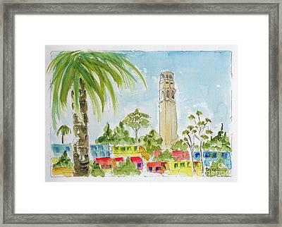 Coit Tower Framed Print