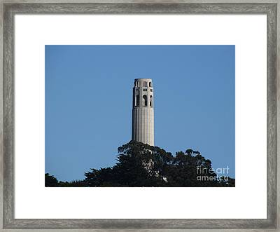 Coit Tower San Francisco Framed Print