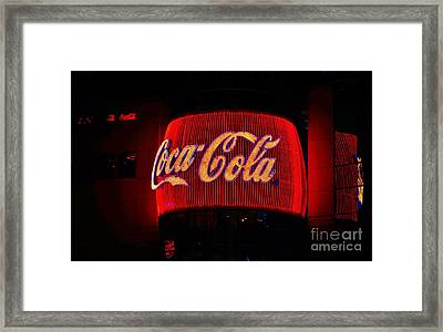 Coke - Las Vegas Framed Print by Craig Wood