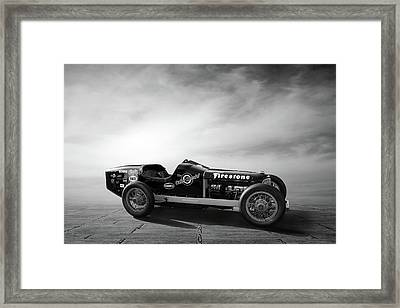 Coker Special Great Race 2012 Framed Print by Peter Chilelli