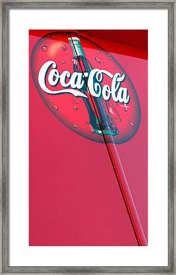 Cokesicle Coca Cola Framed Print by Scott Campbell