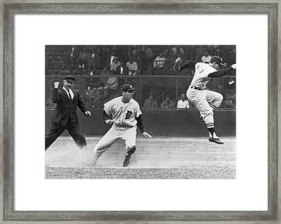 Colavito And Aparicio Framed Print