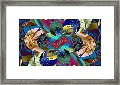 Colburst Framed Print by Lauren Goia