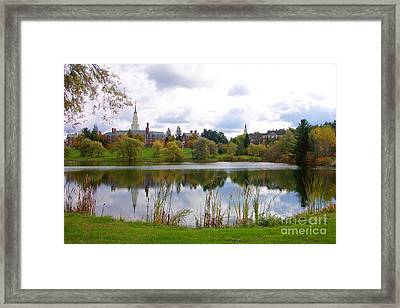 Colby College  Framed Print