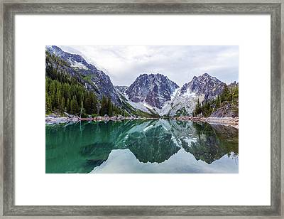 Colchuck Lake Framed Print by Evgeny Vasenev