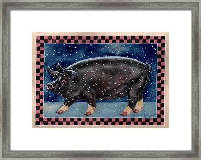 Cold Bacon Framed Print