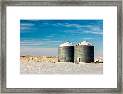 Cold Bins Framed Print by Todd Klassy