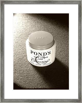 Cold Cream Framed Print by Daniel Napoli