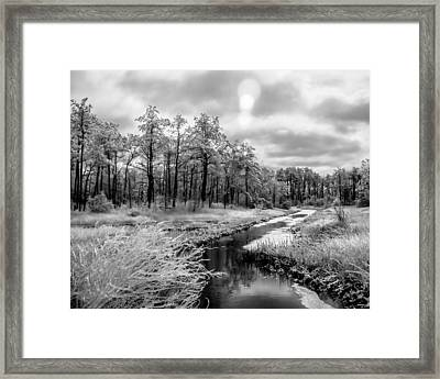 Cold Creek Framed Print