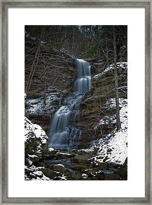 Cold Day At The Cathedral Framed Print
